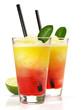 Zweifarbiger Margarita Cocktail