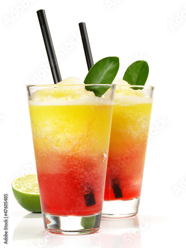 Zweifarbiger Margarita Cocktail - 47605485
