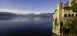 Eremo di Santa Caterina del Sasso panorama color image