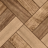 Texture of fine dark brown parquet