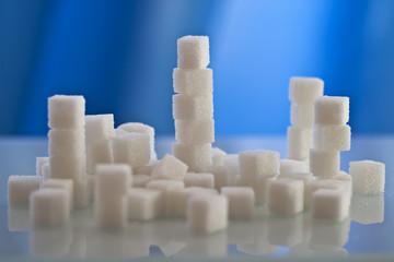 sugar cubes (shallow dof)