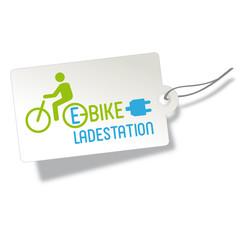 Elektromobil Banner, E-Bike charging point