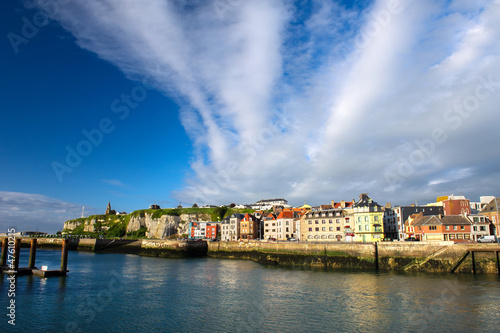 French coast village Dieppe