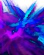 Moderne Kunst - Hintergrund Blau Violett