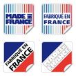 sticker made in France