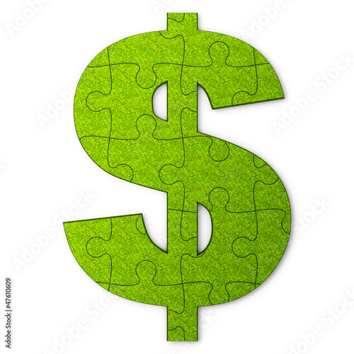 Green dollar puzzle