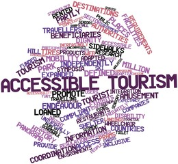 Word cloud for Accessible tourism