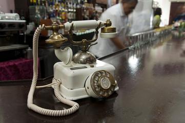 Vintage retro telephone, Hotel Nacional, Havana, Cuba