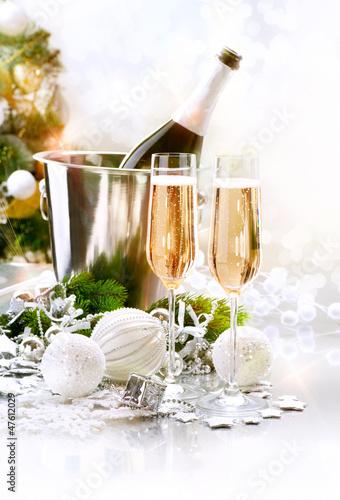 Fototapeten,neu,jahre,feier,champaign