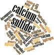 Word cloud for Calcium sulfide