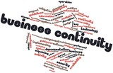Word cloud for Business continuity