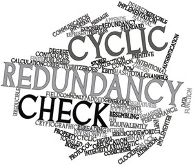 Word cloud for Cyclic redundancy check