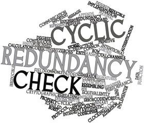 Word cloud for Cyclic redundancy check