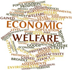 Word cloud for Economic welfare