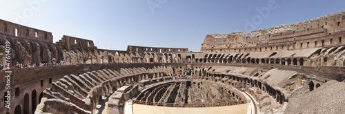 Leinwanddruck Bild Coliseo de Roma