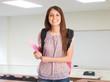 Smiling student portrait
