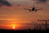Fototapeta ląd - lądowanie - Samolot