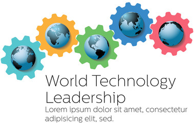 World technology global leader gears