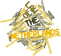 Word cloud for Law of the Netherlands