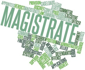 Word cloud for Magistrate