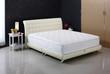 Leinwandbild Motiv Nice mattress and bed set, built for photography in studio