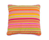 Colorful stripes pillow the living room accessory