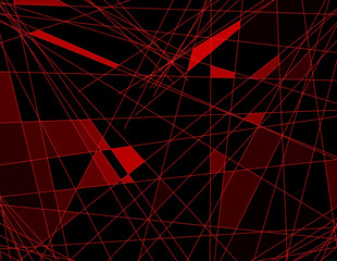 abstract lines technology background