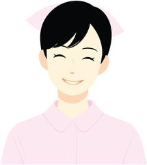 若手女性看護師(笑顔)