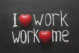 love work mutually poster