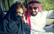 arabian couple enjoying life