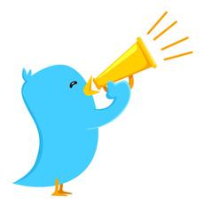 Tweeter bird shout