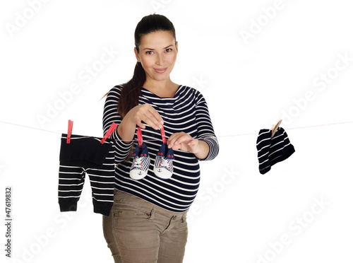sharming pregnant woman