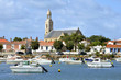 Port and church of Saint-Gilles-Croix-de-Vie de Vie in France - 47620800