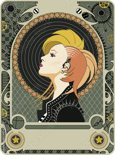 Punk Art Deco