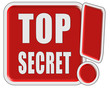 !-Schild rot quad TOP SECRET