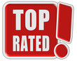 !-Schild rot qad TOP RATED