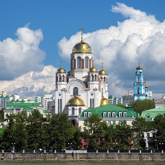 The Church on Blood in Yekaterinburg, Russia