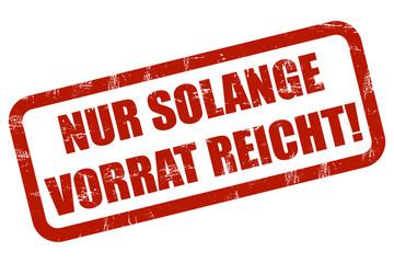 Grunge Stempel rot NUR SOLANGE VORRAT REICHT!