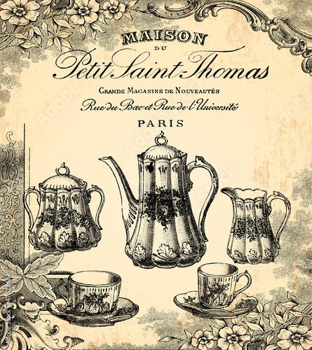 Le salon de thé © lynea