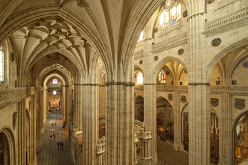 Inside New Cathedral - Salamanca