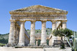 The Doric temple of Segesta in Sicily, Italy