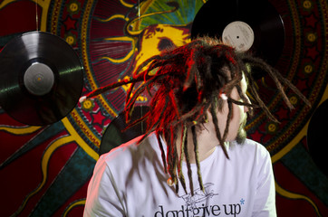Rastafarian figure