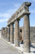Pompeii - The ruined Roman city, Italy.