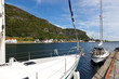 Marina in  Rennesoy, Norway.