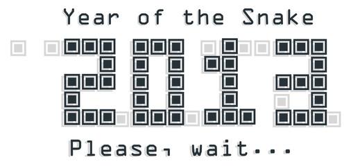 2013 Snake year design