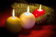 candele tricolore