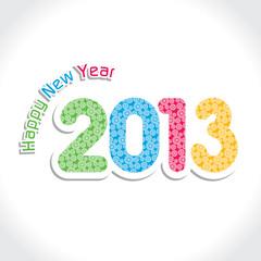 New Year Greeting Card,2013