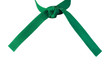 Tied Karate Green Belt