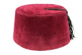 Turkish fez, traditional ottoman hat