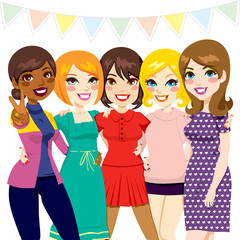 Women Friends Party